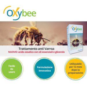 OXYBEE trattamento AntiVarroa innovativo