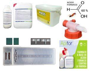 Acido formico trattamenti