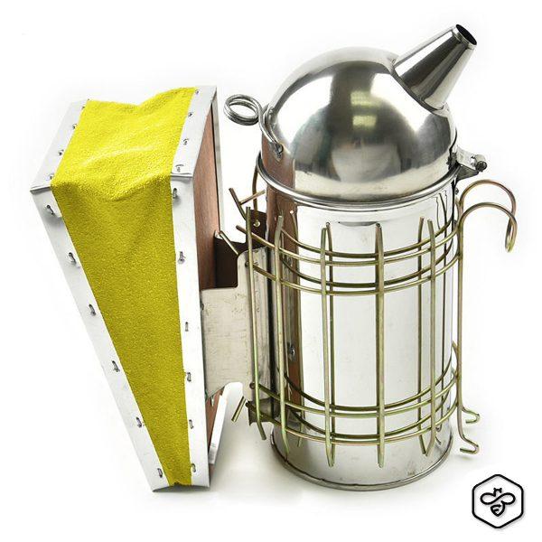 Affumicatore inox BeePro con protezione ø 10 cm.