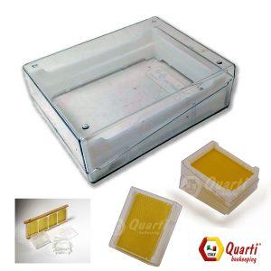 Favetto-Favo con scatola trasparente Quarti