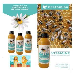 Beetamina integratore vitaminico per api