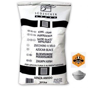 Zucchero a velo-impalpabile senza amido per Apicoltura -kg.10-