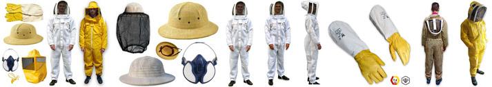 Abbigliamento per Apicoltura Abbigliamento per l'Apicoltore usato dai professionisti
