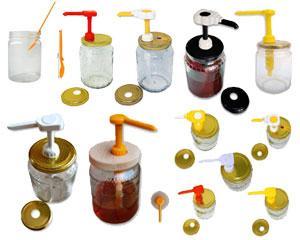Dosatori in plastica per miele