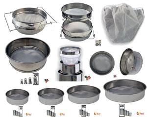 Filtri in acciaio inox e a sacco Lega e Quarti per maturatori di tutte le misure