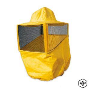 Maschera quadrata gialla a cappello Professionale BeePro