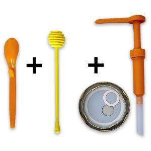 Set 3 Spargi-DosaMiele   cucchiaia, spargi e dosa il tuo miele